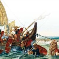 Il primo sbarco di Cesare in Britannia