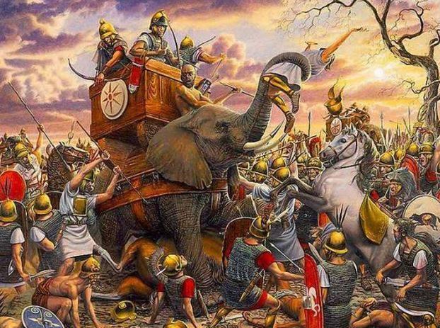 Dopo aver affrontato i romani Pirro disse: «Ἂν ἔτι μίαν μάχην νικήσωμεν, ἀπολώλαμεν», ossia: «Un'altra vittoria così e sarò perduto.» (Plutarco, Pirro, 21).