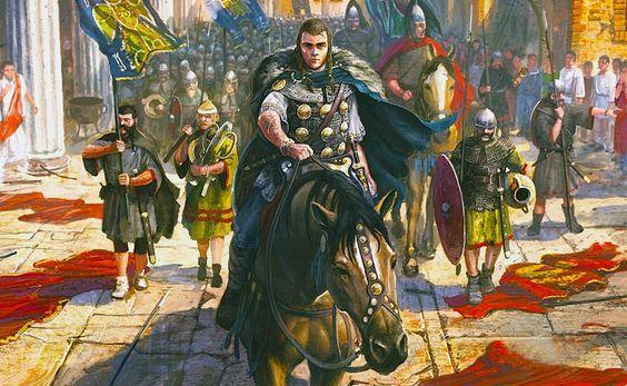 Il sacco di Roma di Alarico