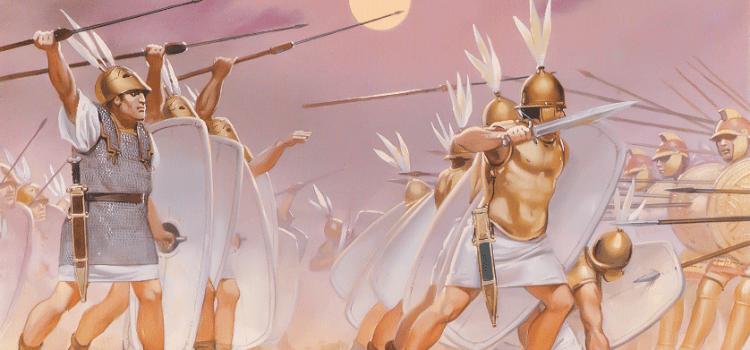 La battaglia di Pidna