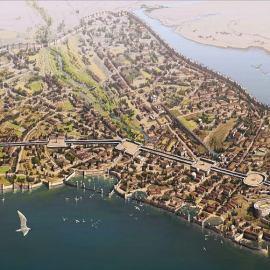 La fondazione di Costantinopoli, la Nuova Roma
