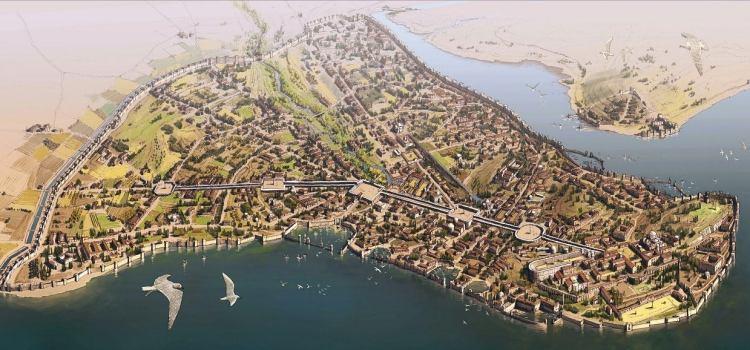 La fondazione di Costantinopoli