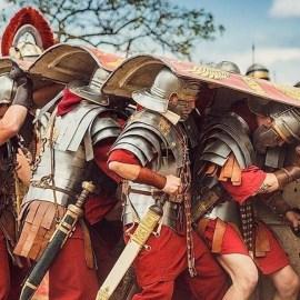 La formazione romana a Testudo