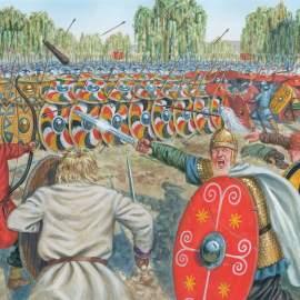 La tragica fine di Valente ad Adrianopoli