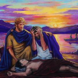 La morte di Antinoo, il favorito di Adriano