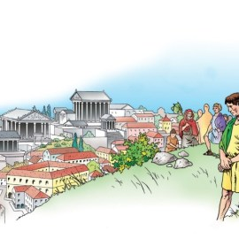 La secessione della plebe del 494 a.C.