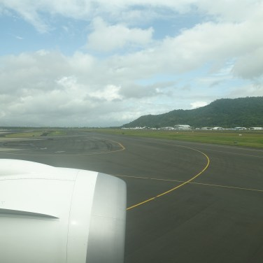 Runway at Cairns Airport