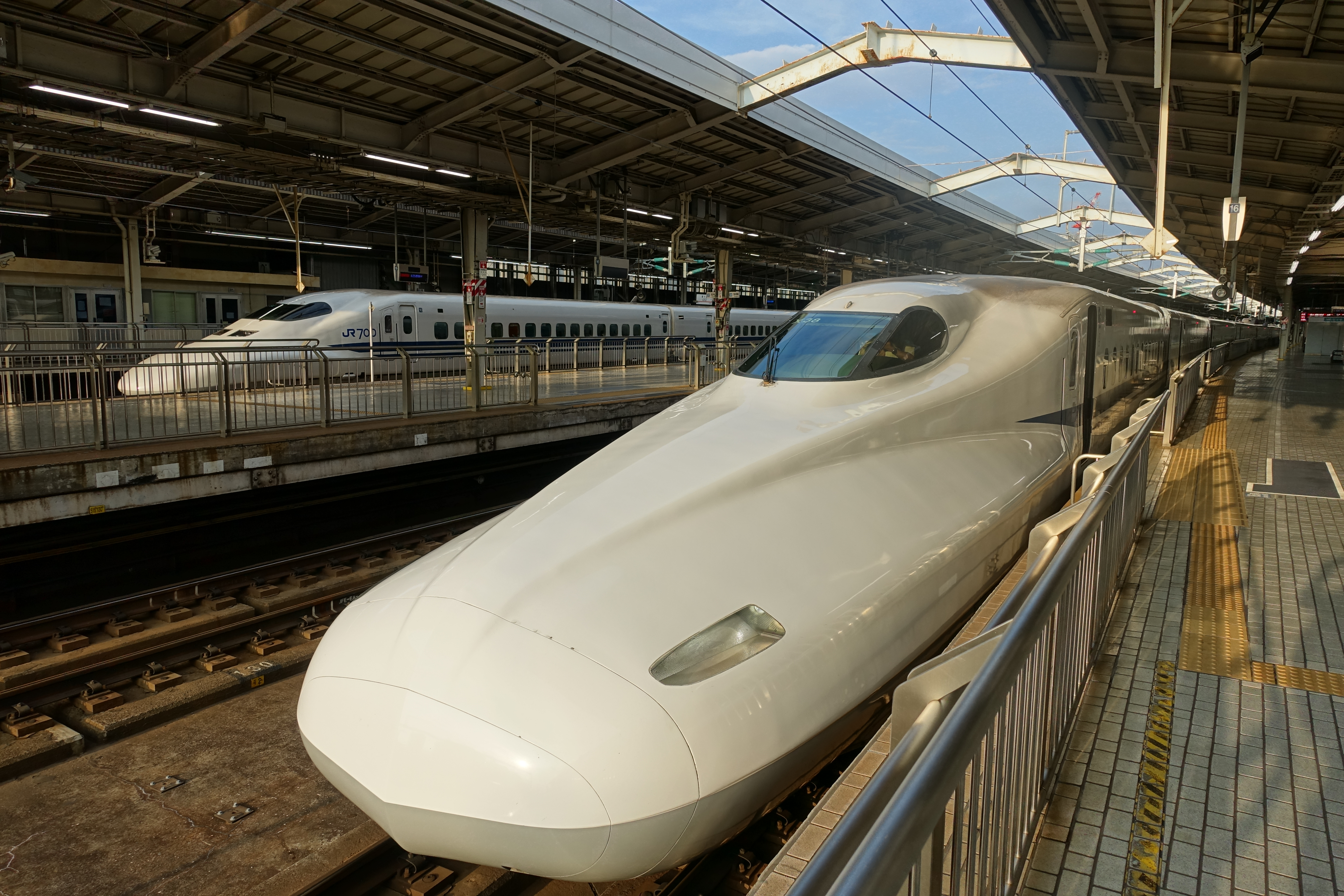 Nose of a Shinkansen
