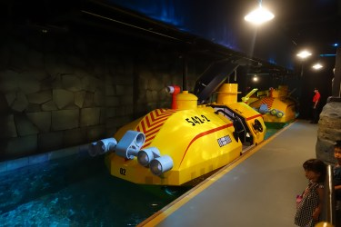 A submersible ride