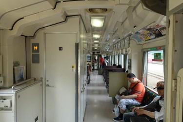 KiHa 120 interior