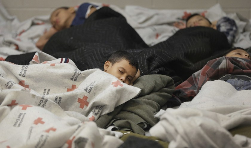 kids held in immigrant detention center by ICE