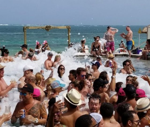 Foam Party Breathless Punta Cana Dominican Republic
