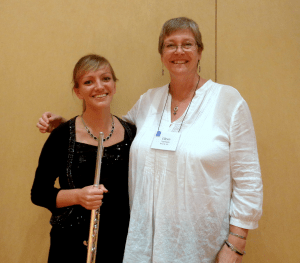 Emily Bartz '17 and Dr. Eileen Yarrison
