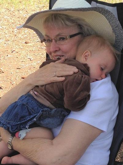 Jonita and baby
