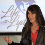 Lydia Knight at live speaking engagement