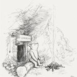 """Pooh Shepard1928"" by Illustration to page 3 of Winnie-the-Pooh (1926) by artist E. H. Shepard. Scan from Bibliodyssey. Licensed under Fair use of copyrighted material in the context of Winnie-the-Pooh via Wikipedia - http://en.wikipedia.org/wiki/File:Pooh_Shepard1928.jpg#mediaviewer/File:Pooh_Shepard1928.jpg"