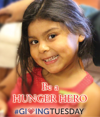 Be A Hunger Hero – Giving Tuesday