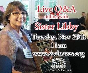 GivingTuesday Live AMA with Sister Libby