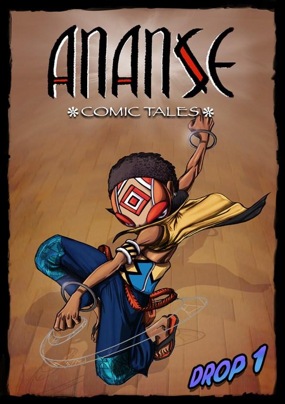 ananse comic by kiaski donkor