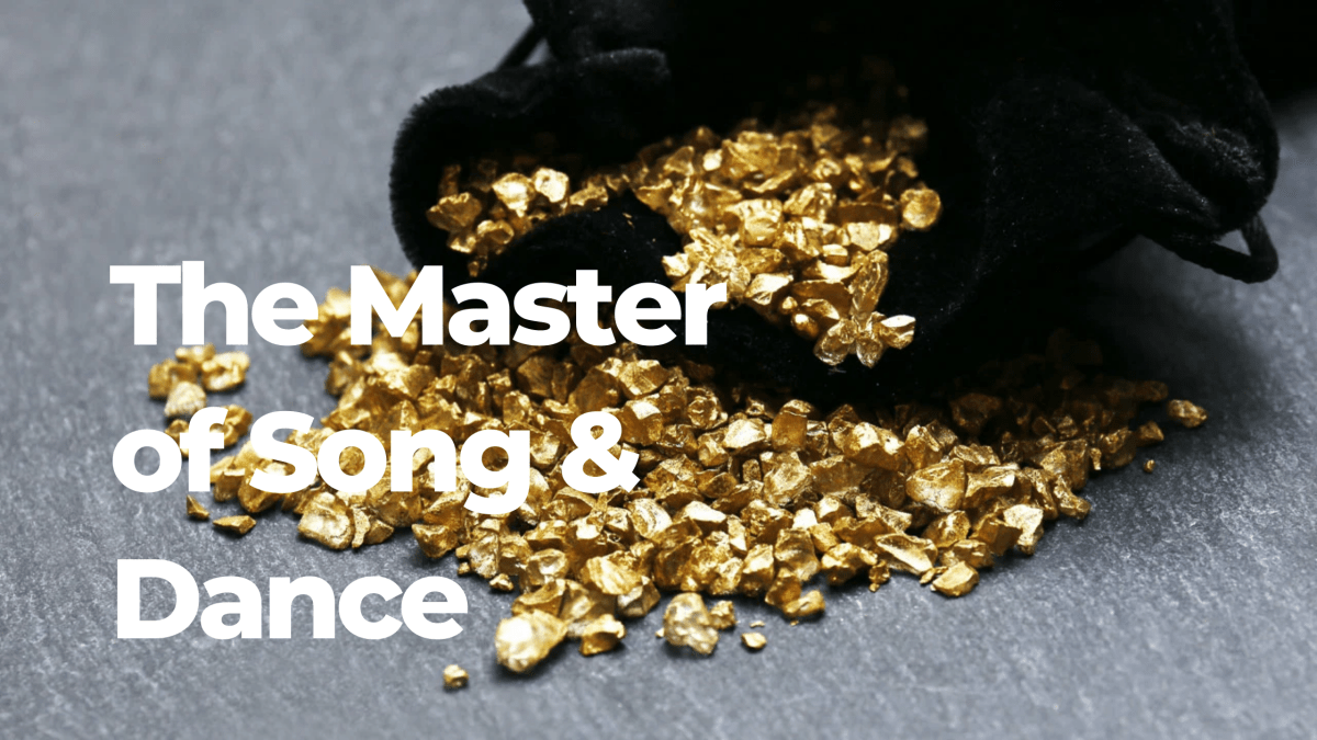 The Master of Song and Dance by Kofi Nyameye