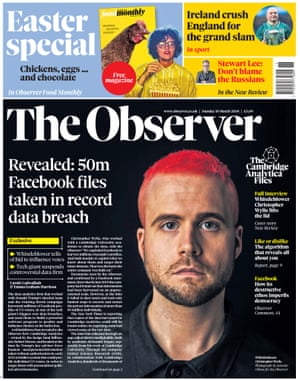 Christopher Wylie, Whistleblower im Cambridge Analytica Skandal