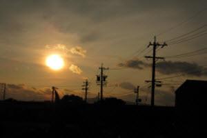 Gifu, Japan Sunset
