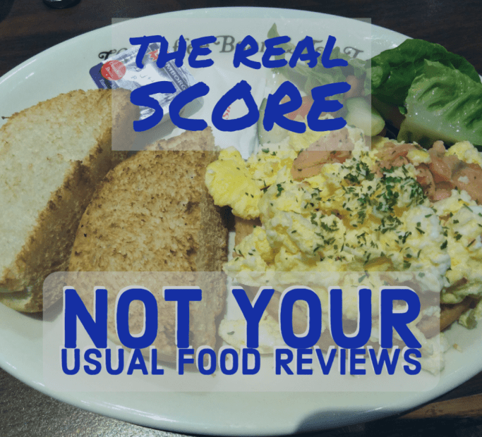 Not Your Usual Food Reviews: A Mix of All Meals Eaten During Dinnertime