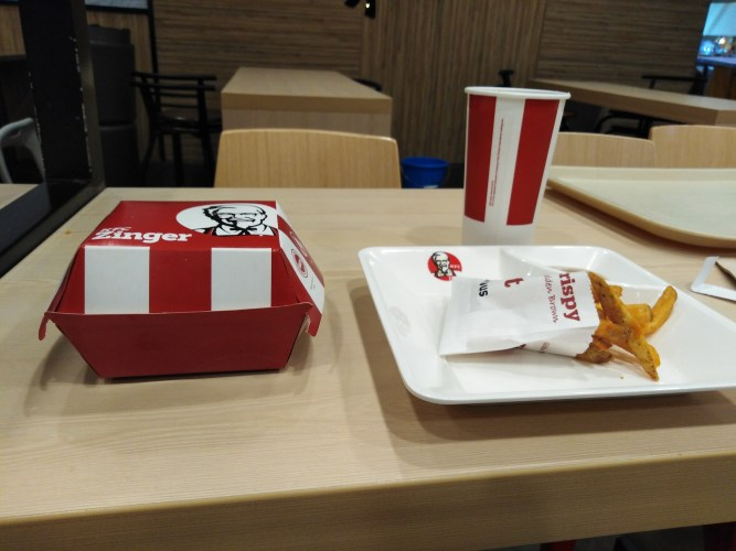Zinger Meal by KFC