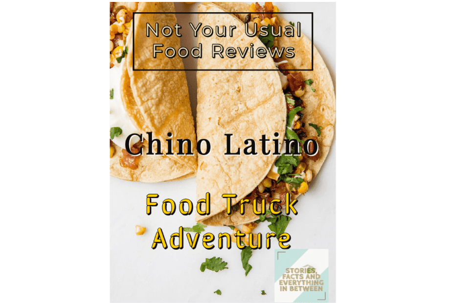 Not Your Usual Food Review: Chino Latino