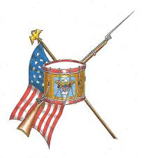 Drum and Union Flag