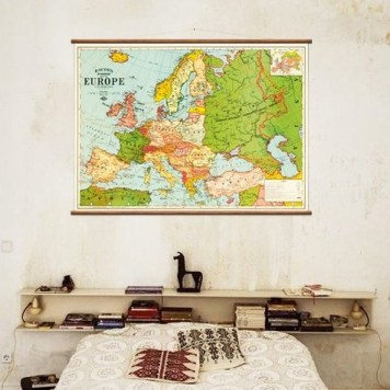 Vintage Map Europe | Wall Discovery