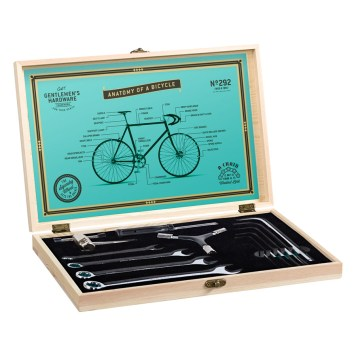 Bicycle Tool Kit | Wooden Box + Tools