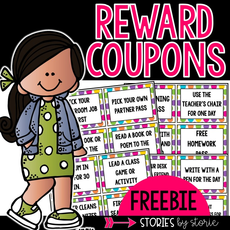 Classroom Rewards & Freebie