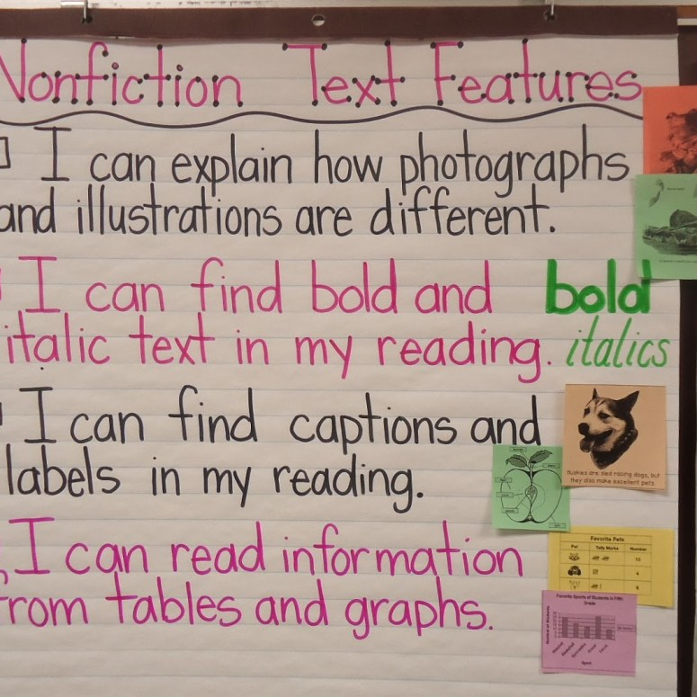Captions, Labels, Tables, and Graphs
