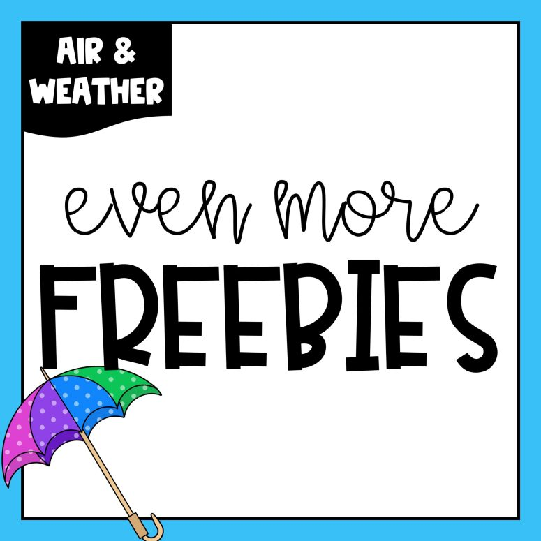 Air & Weather Freebies, Day 4 – A Hodgepodge of Freebies