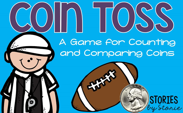 Coin Toss (A Free Math Game for Counting and Comparing Coins)
