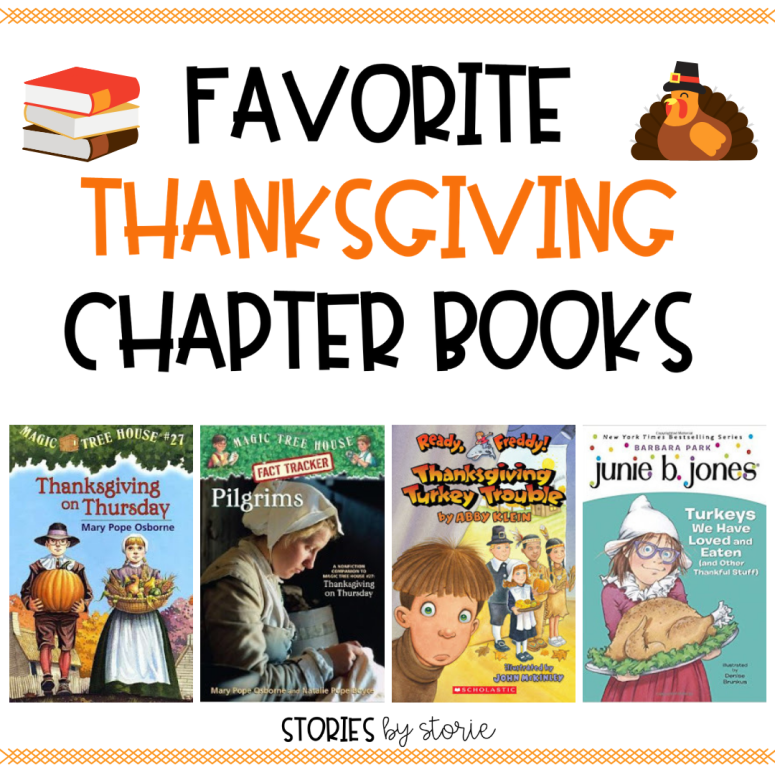 Favorite Chapter Books to Read Leading up to Thanksgiving