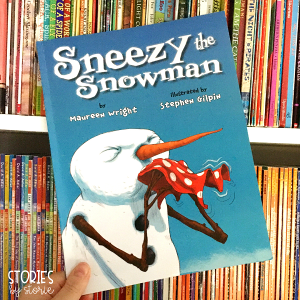 Sneezy the Snowman is a great book to share with your class in winter!