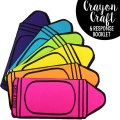 This crayon craft booklet can be used with any crayon-themed picture book. I have paired it with The Crayon Box That Talked, The Day the Crayons Quit, and A Day with No Crayons.