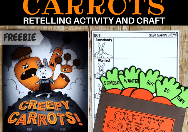 Creepy Carrots Retelling Activity