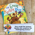 If you're looking for an entertaining book to read to your students before Thanksgiving, you need to check out The Great Turkey Race by Steve Metzger! This book companion contains comprehension questions, vocabulary, and a directed drawing that pairs well with a writing activity.