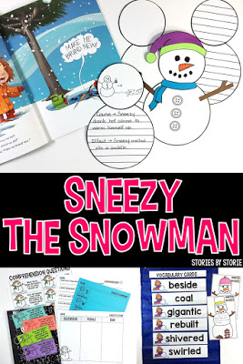 Sneezy the Snowman Resources