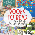 The end of the school year can be filled with a variety of emotions. You are bound to find students who feel joy, sadness, and even fear about the school year ending. I always turn to books to help students cope with whatever they are feeling in that moment. Here are several books your students might enjoy at the end of the school year.
