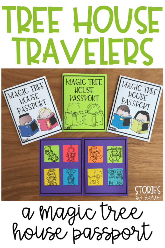 If your students enjoy reading The Magic Tree House series, they will love becoming Tree House Travelers! As students finish reading one of the books, they can add a passport stamp to their booklet. After finishing the original 28 books in the series, their passport is complete!