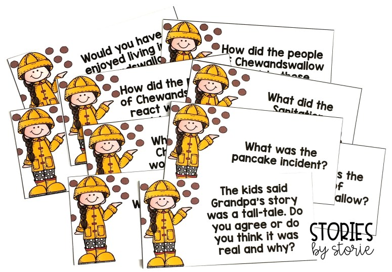 These comprehension questions can be used to guide discussion during and after reading Cloudy with a Chance of Meatballs.