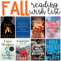Do you have a fall reading wish list? Here are the books I plan to curl up with as the weather starts to cool!
