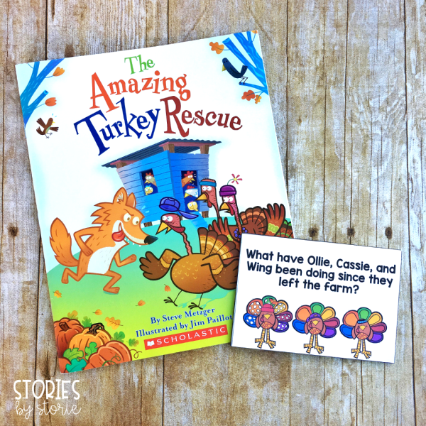 These eight discussion questions can be used while reading The Amazing Turkey Rescue by Steve Metzger.