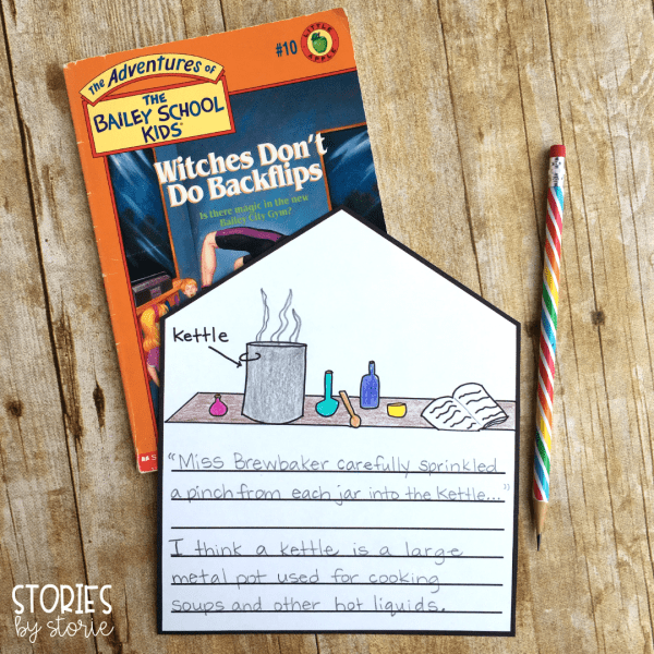 These open-ended response pages can be used with any of the books in the Bailey School Kids series. These would be great for student practice with visualization, vocabulary, making connections, questions, and more!