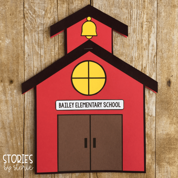 This school house craft is actually a reading response booklet that can be used with any of the books in the Bailey School Kids series. There are several reading response template pages included along with some open-ended response pages.