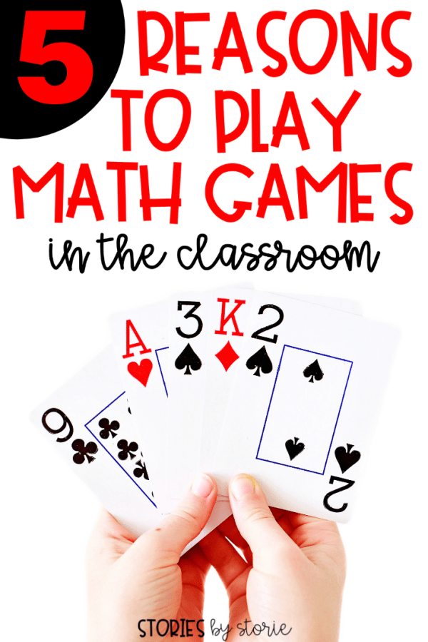 I think we can all agree that kids love to play math games. I love to build upon their love of games by incorporating game time into my math block as often as possible. Playing math games is not only fun, but these games can also provide so many benefits. Here are 5 reasons to play math games in the classroom.